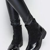 Женские ботиночки Натуральная  кожа