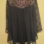Роскошная нарядная кофта,блузка Matalan,р.12,отличное состояние