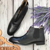Мужские ботинки челси Reotape классического фасона с круглым носком  SH3410