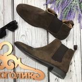 Классические ботинки челси базового оттенка SH3427