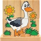 Кубики на палочке Сельские животные, Руди Д290у