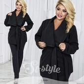 Женское стильное пальто 48-52