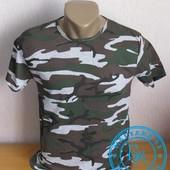 Стильная футболка Камуфляж L, XL