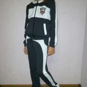 Спортивный стильный трикотажный костюм для девочки 122-152