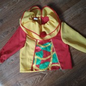 Качественного пошива верх костюма 104рост 4г Клоун или Петрушка как новый