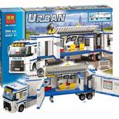 Конструктор Bela urban 10420 Мобильный отряд полиции 394 деталей аналог Lego City 60044