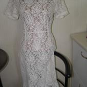 Кружевное платье 14-размер