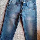 Джинсовые шорты капри для девочки 140