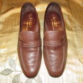 Лоферы Bally Швейцария кожаные туфли р. 40