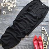 Шикарное вязаное платье Asos в пол р-р Хс-С
