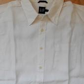 рубашка GAР размер L (52) лён