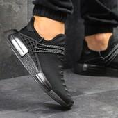 Кроссовки мужские Adidas NMD Human race black