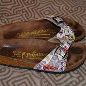 шлёпанцы женские ++-Birkenstock Papillio 24 см 37 размер- в идеале