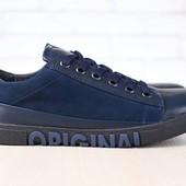 Мокасины Multi Shoes кожаные, р. 40-45 код nvk-2695
