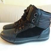 Деми ботинки из очень мягкой кожи Geox стелька 24.5 см.