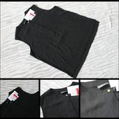 C&a.новая.стильная черная майка - блуза.