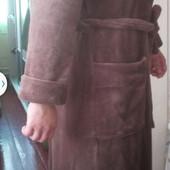 Теплый и уютный мужской халат