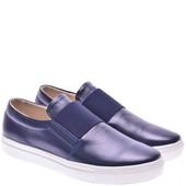 Женские туфли 1018-1син