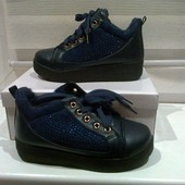 Стильные высокие кроссовки,спортивные ботинки на меху! Распродажа!