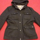Шерстяная куртка парка фирмы Mantaray by Debenhans ( Германия )  p. L