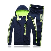 Мужской спортивный костюм Adidas  неон 46.48.50.52 (2с