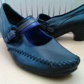Hotter, 42 p. Кожаные удобные туфли