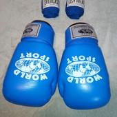 боксерские перчатки, натуральная кожа