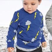 Свитшот Молнии  от Aosta Betty на 2-7 лет Двухнить