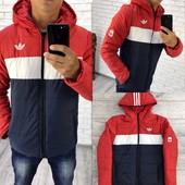 Куртка Adidas с капюшоном 46-52 р-р