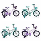 Кросер Киди 16, 18, 20 Azimut Kiddy велосипед двухколесный детский девочки
