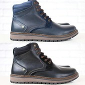 Ботинки Multi Shoes на меху из натур. кожи, р. 40-45, код nvk-2810