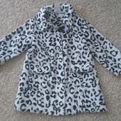 Легкое пальто для девочки 2-3 года