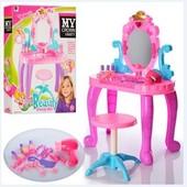 Трюмо Beauty 661-39. Детский Туалетный столик, стульчик