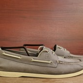 -Sperry Top-Sider -100% Original -made in Indonesia -натуральная мягкая кожа -размер 10М -длина стел