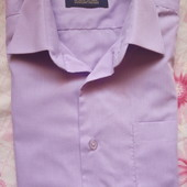 Рубашка для мальчика в школу и не только. На 8-10 лет примерно.