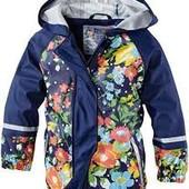 Куртка дождевик детская на девочку Lupilu 6-8 лет