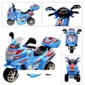 Детский мотоцикл Subaki M 0637 синий