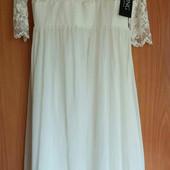 Шикарное свадебное платье немецкого бренда  Swing, M, Сток из Европы