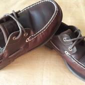 Кожаные туфли Timberland р.40-26см.