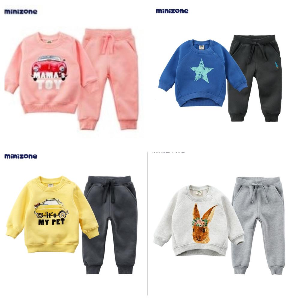 Спортивный утепленный костюм комплект в ассортименте для девочки и мальчика на мальчика девочку фото №1