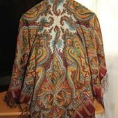 Платок женский Павловопосадская платочная мануфактура