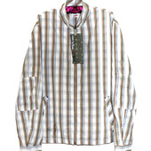 Triple five Soul. Модная рубашка на молнии с карманами. Смотрите, замеры.