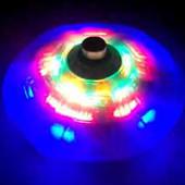 Самораскручивающаяся светящаяся юла с музыкой и подсветкой.
