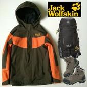 куртка 2 в 1 Jack Wolfskin 140 рост,деми и зима