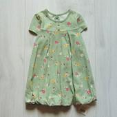 Новое платье для девочки. George. Размер 9-12 месяцев