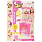 Кухня детская игровая 922-15. Световые и звуковые эффекты