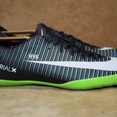 Nike MercurialX Victory 6 ic 831966-013 футзалки. Индонезия. Оригинал. 45 р.