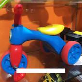 Велосипед трехколесный детский 601S-4 сине-красный