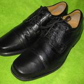 Туфли Clarks,р43-44 стелька 29,5см Кожа