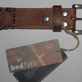 Кожаный ремень Bedstu, U.S.A. унисекс размер 32-40